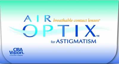 Contactlenzen Air Optix for Astigmatism, 3-pack