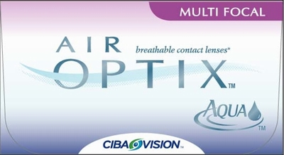 Contactlenzen Air Optix Aqua Multifocal, 3-pack