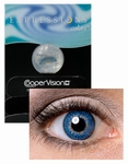Kleurlenzen  Expressions Colors DarkBlue 1 pack